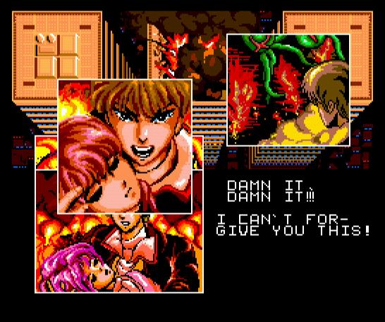 Aleste é um dos games MegaROM, portados para MegaRAM.